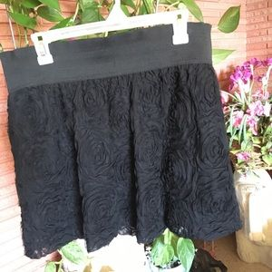 Ladies black miniskirt (sexy for evening!)